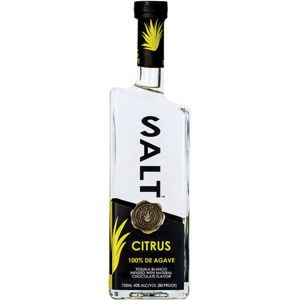 SALT Citrus Flavored Tequila - Available at Wooden Cork