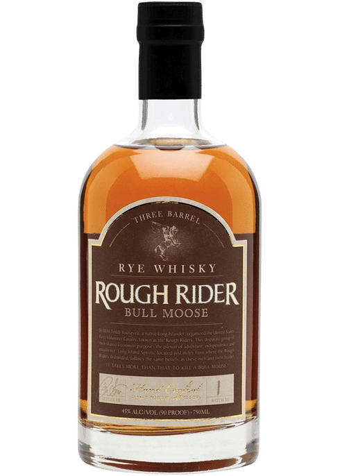 Rough Rider Rye Bull Moose 3 Barrel - Available at Wooden Cork