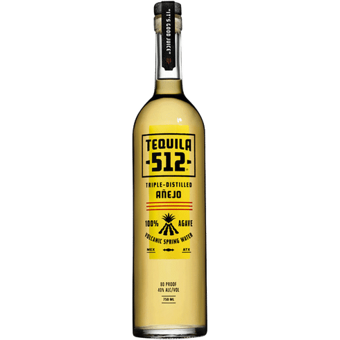 Tequila 512 Anejo - Available at Wooden Cork