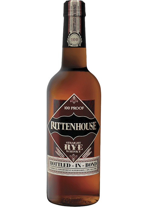 Rittenhouse Rye 100 - Available at Wooden Cork