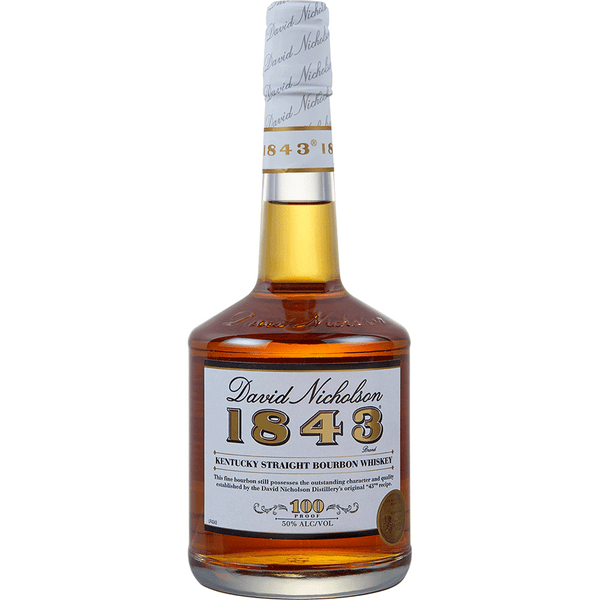 David Nicholson 1843 Kentucky Straight Bourbon Whiskey - Available at Wooden Cork