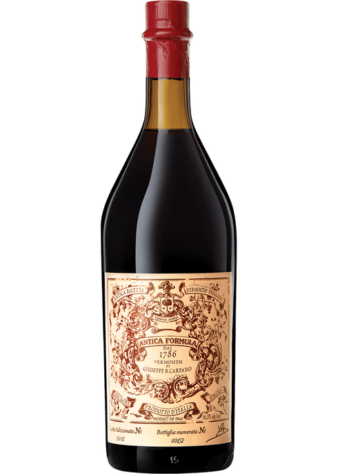 Carpano Antica Formula Vermouth 1L - Available at Wooden Cork