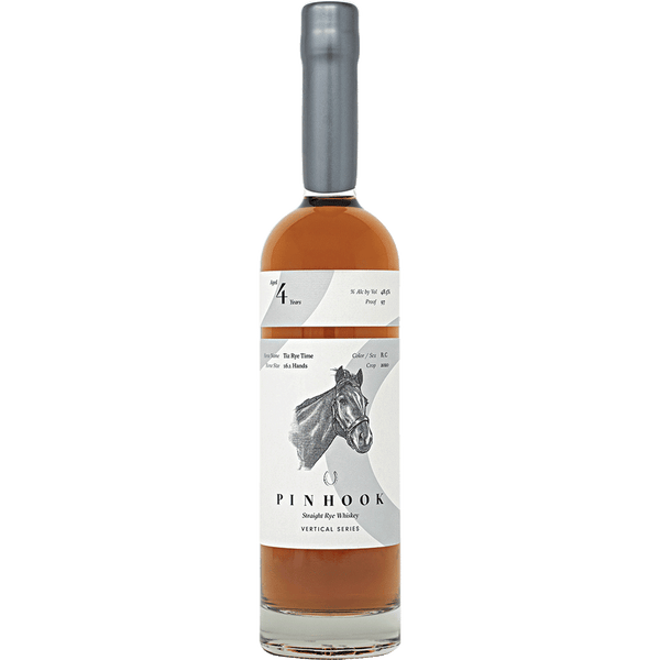 Pinhook 4 Year Tiz Rye Time Straight Rye Whiskey - Available at Wooden Cork