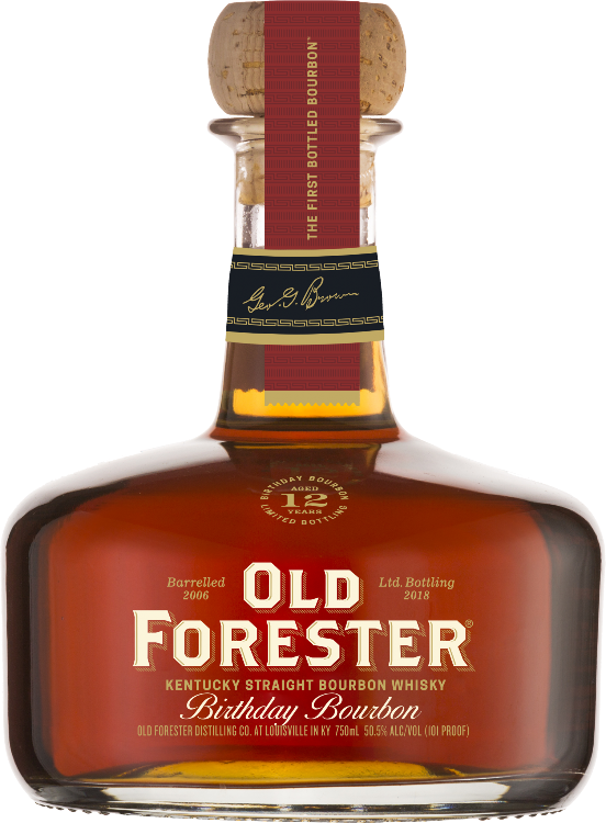 Old Forester Birthday Bourbon - 2018 Release Signed by Campbell Brown - Available at Wooden Cork