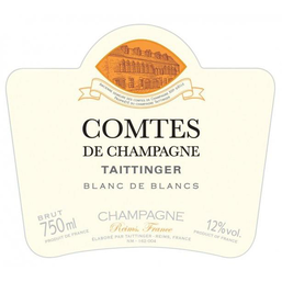 Champagne Taittinger Champagne Brut Comtes De Champagne Blanc de Blancs - Available at Wooden Cork