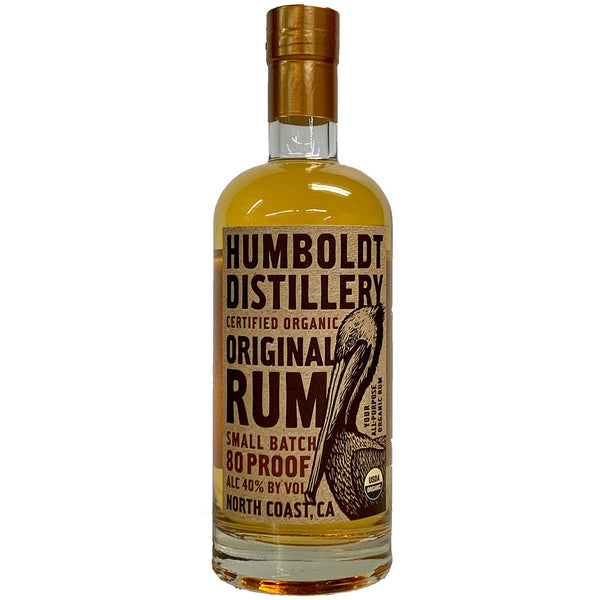 Humboldt Distillery Original Rum - Available at Wooden Cork