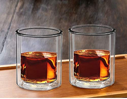 Double Wall Manhattan Style Glass Set - Available at Wooden Cork