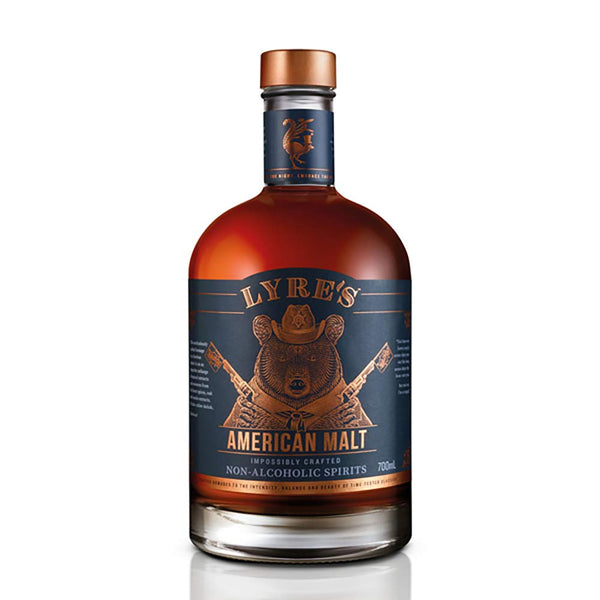 Lyre's American Malt Non-Alcoholic Spirit - Available at Wooden Cork
