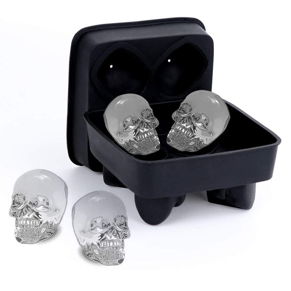 Skull Ice Molds for Whiskey