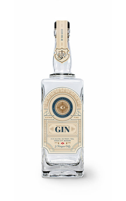 Rieger's Midwestern Dry Gin - Available at Wooden Cork