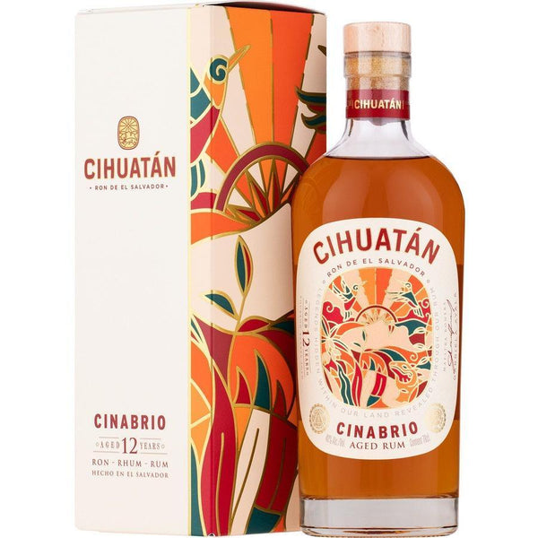 Cihuatan 12 Year Old Cinabrio Aged Rum - Available at Wooden Cork