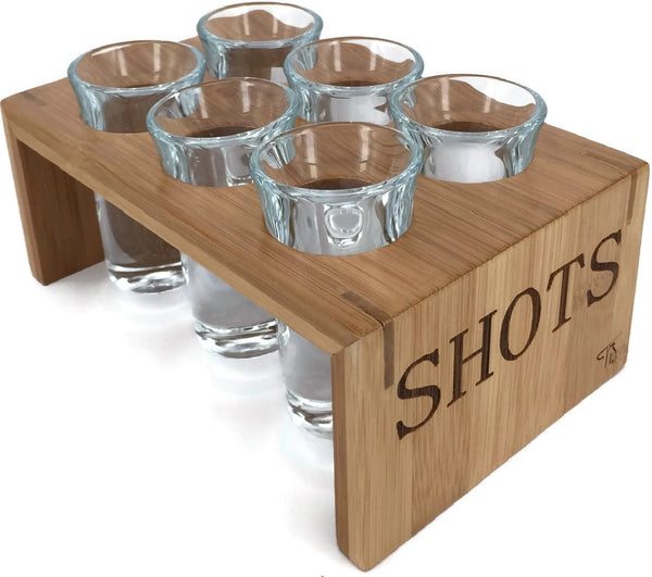 Tequila Shot Glass Set - Available at Wooden Cork