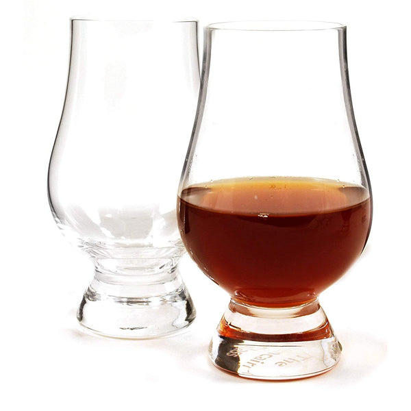 Glencairn Crystal Whiskey Glass Set Barware by Wooden Cork