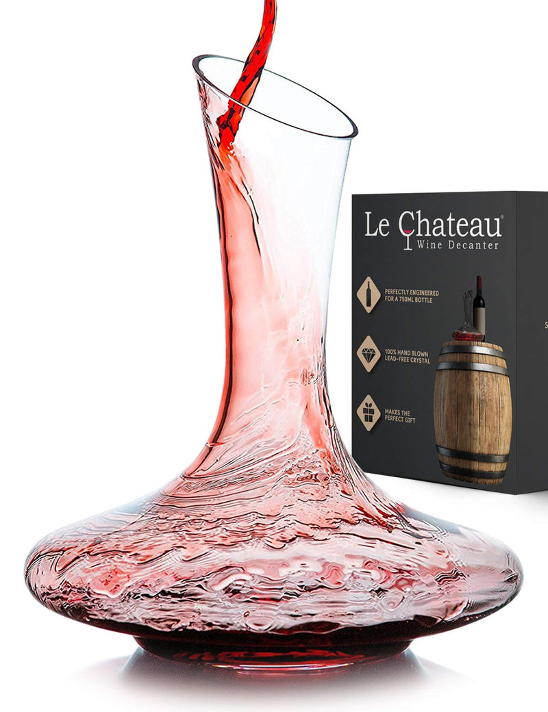 Le Chateau Wine Decanter - Available at Wooden Cork