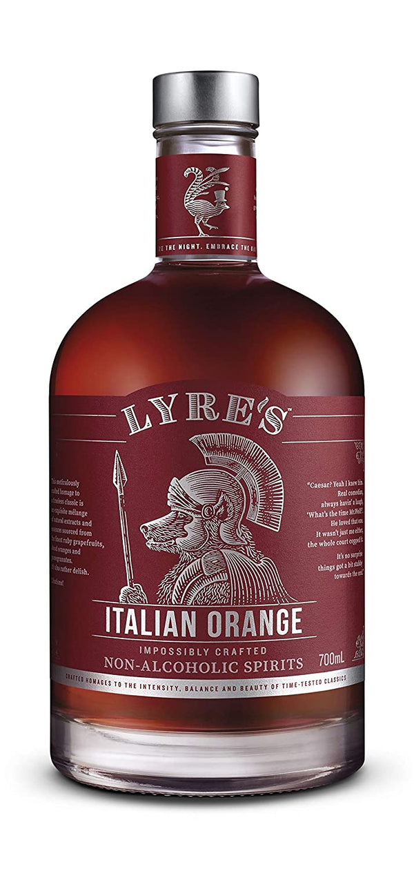 Lyre's Italian Orange Non-Alcoholic Spirit - Available at Wooden Cork