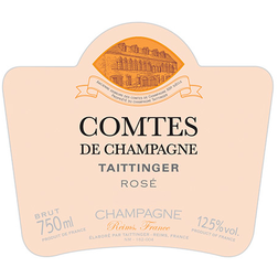 Champagne Taittinger Champagne Brut Comtes de Champagne Rosé - Available at Wooden Cork