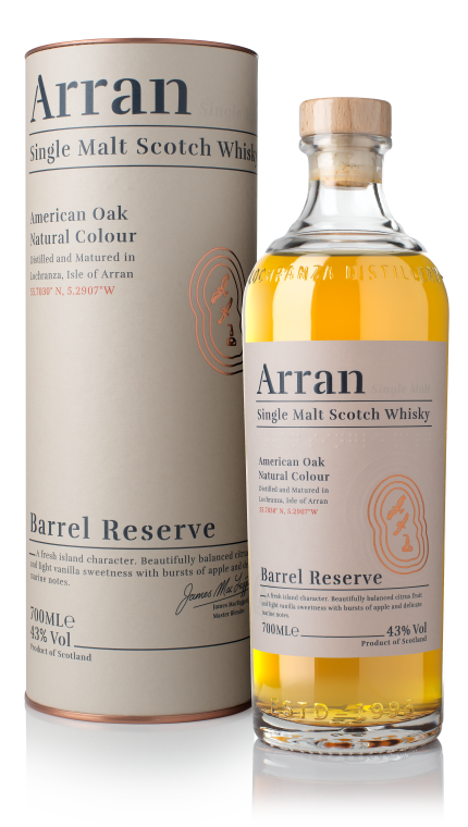Arran Barrel Reserve - Available at Wooden Cork