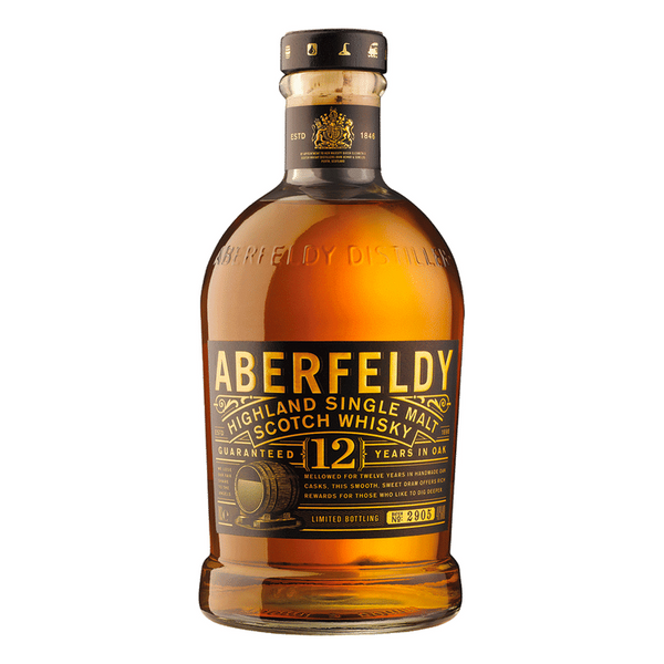 Aberfeldy Single Malt 12 Year Old  Aberfeldy