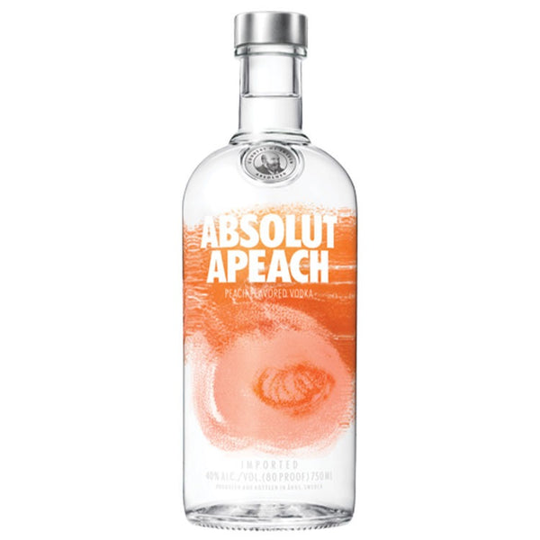 Absolut Apeach Vodka - Available at Wooden Cork