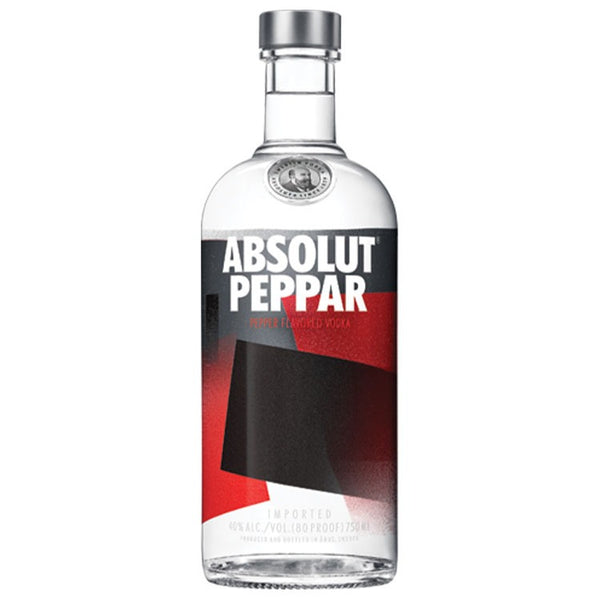 Absolut Peppar Vodka - Available at Wooden Cork