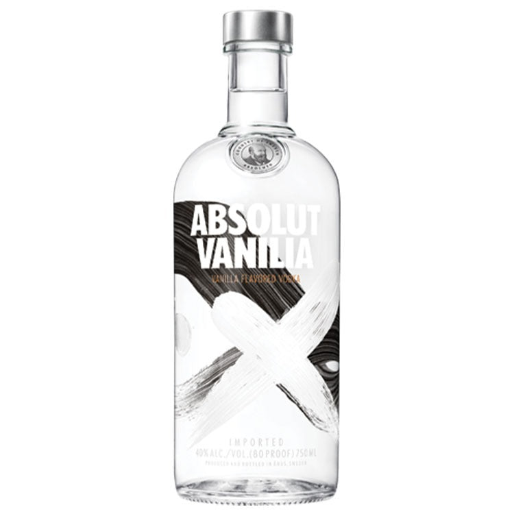 Absolut Vanilla Vodka - Available at Wooden Cork