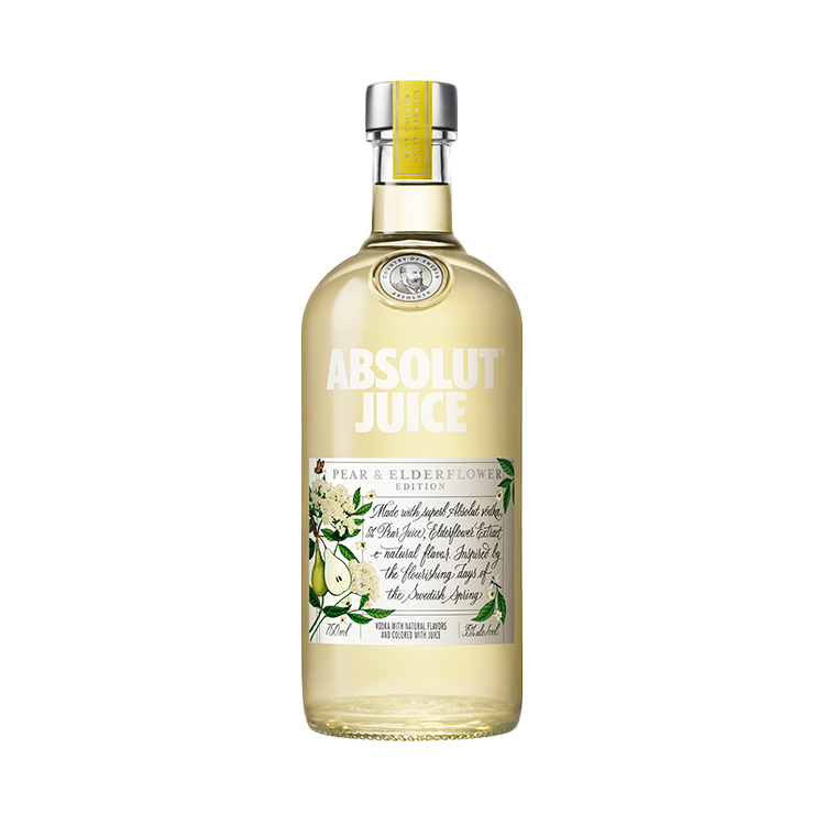Absolut Juice Pear & Elderflower Edition Vodka - Available at Wooden Cork