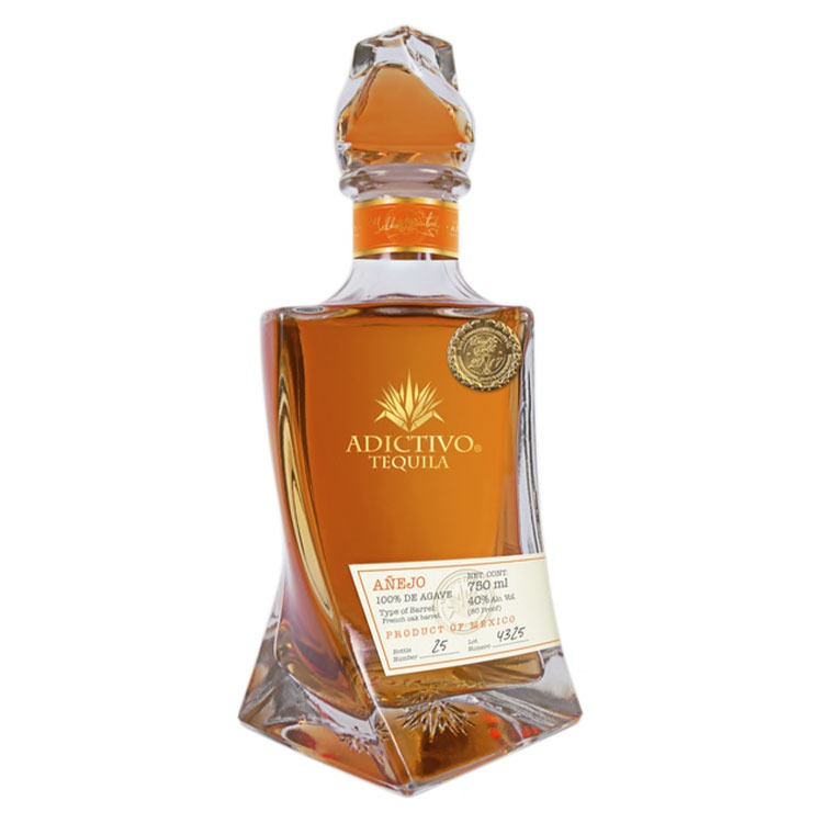 Adictivo Tequila Anejo - Available at Wooden Cork