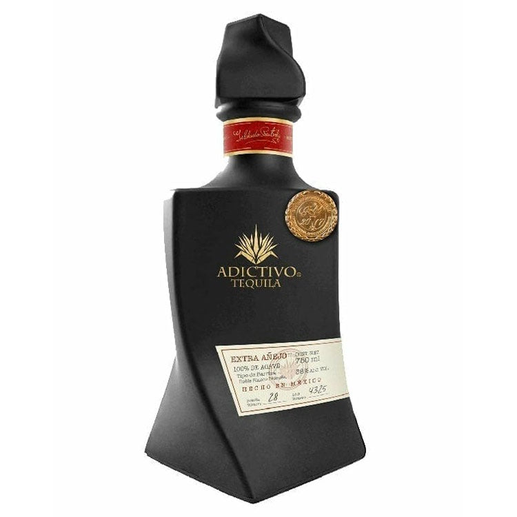 Adictivo Black Edition Extra Anejo Tequila - Available at Wooden Cork