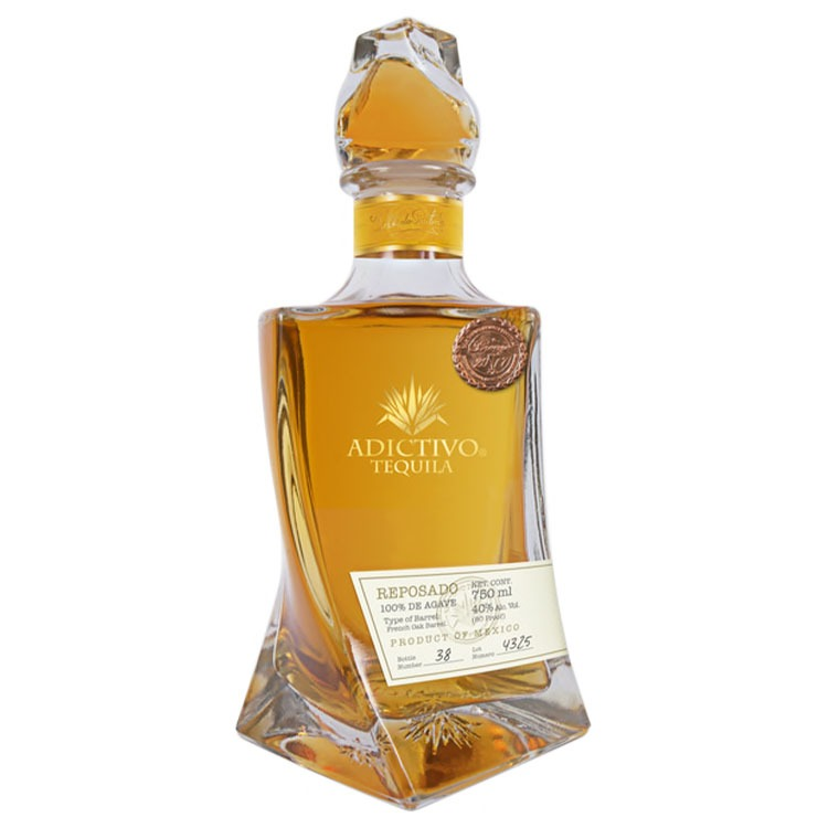 Adictivo Tequila Reposado - Available at Wooden Cork