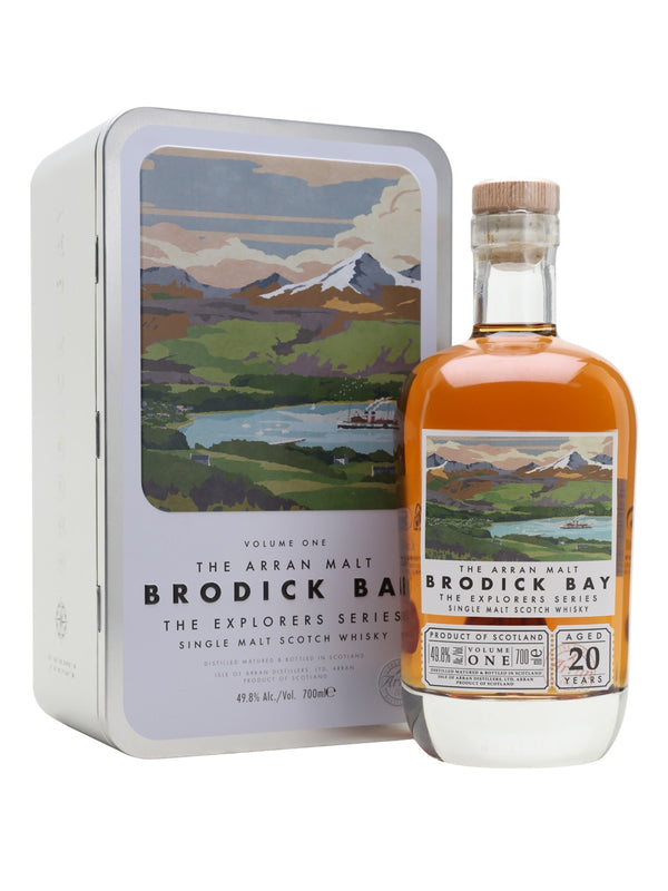 Arran Brodick Bay 20 Year - Available at Wooden Cork