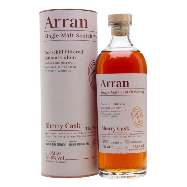Arran Sherry Cask The Bodega - Available at Wooden Cork