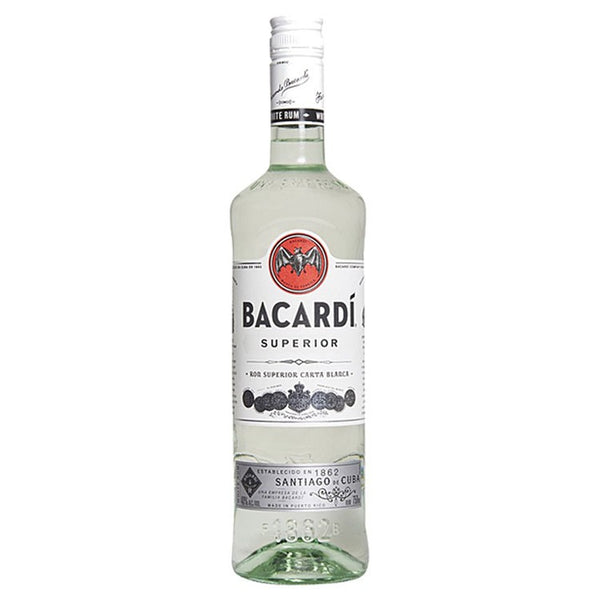 Bacardi Silver Rum - Available at Wooden Cork