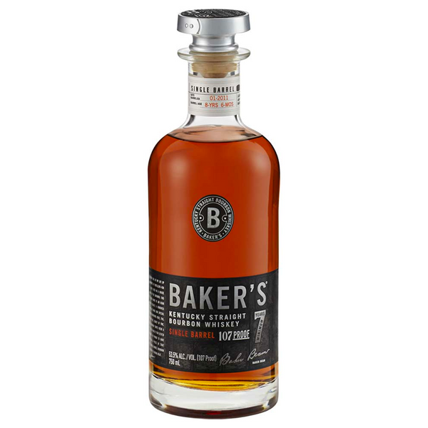 Baker's 13 Year Single Barrel Bourbon Whiskey - Available at Wooden Cork