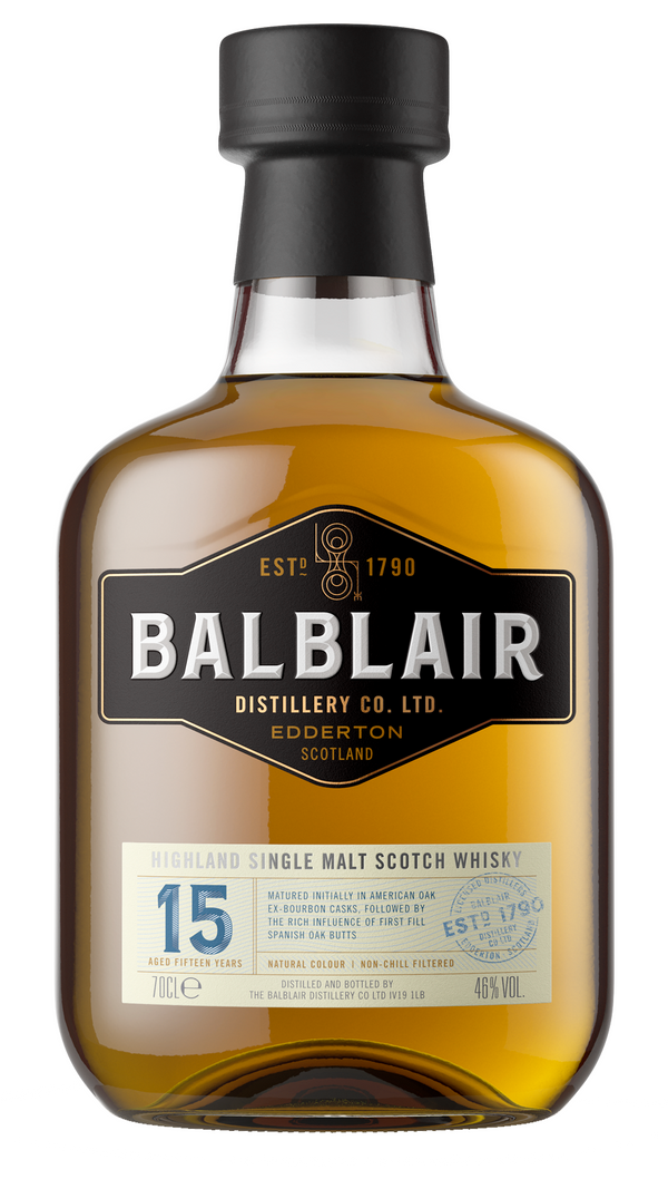 Balblair 15 Year Old - Available at Wooden Cork