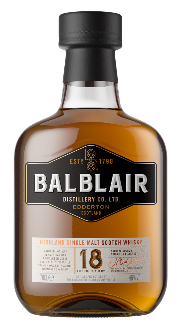 Balblair 18 Year Old - Available at Wooden Cork