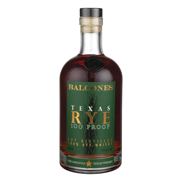 Balcones Texas Rye 100 Proof - Available at Wooden Cork