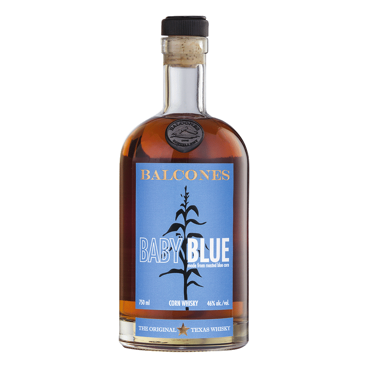 Balcones Baby Blue Corn Whiskey - Available at Wooden Cork
