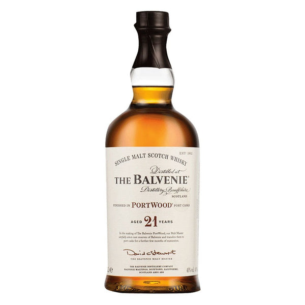 Balvenie 21 Year Old Portwood Finish Single Malt Whisky - Available at Wooden Cork