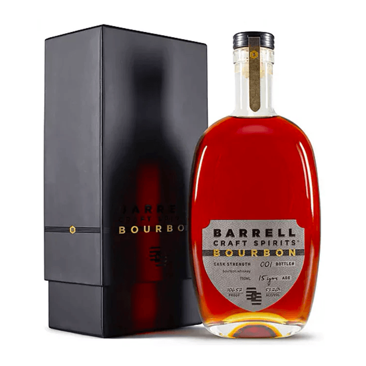 Barrell Bourbon 15 Year Cask Strength Whiskey