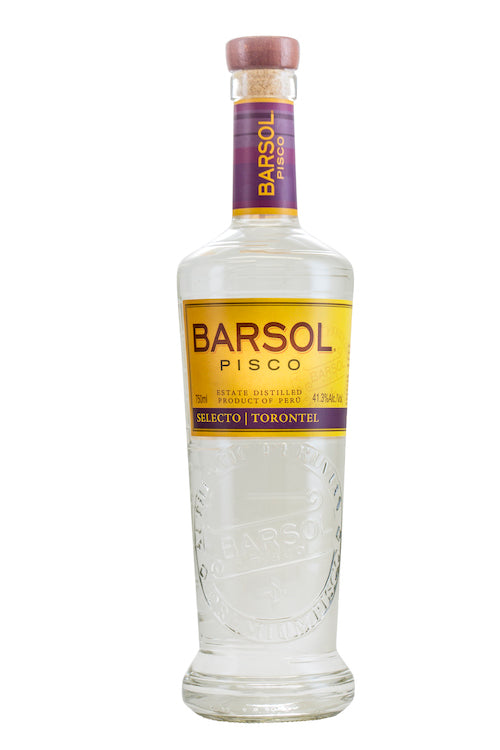 Barsol Torontel Pisco - Available at Wooden Cork