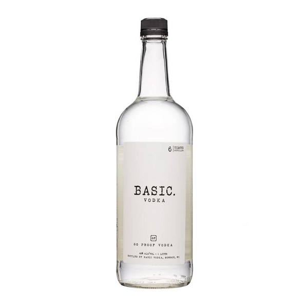 Basic Vodka - Available at Wooden Cork