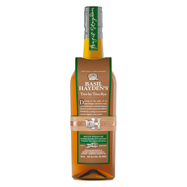 Basil Hayden Two by Two - Available at Wooden Cork