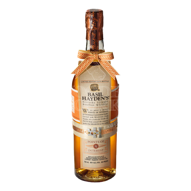 Basil Hayden's X Wildsam Points of Interest - Available at Wooden Cork