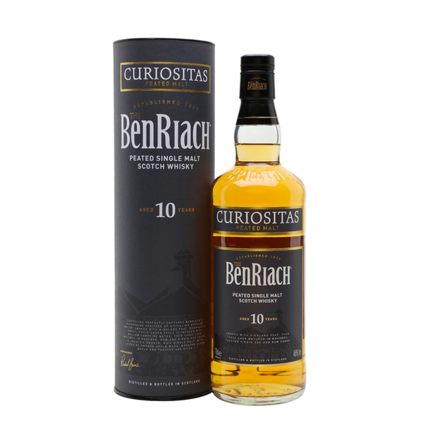 BenRiach Curiositas Peated Single Malt Whiskey 10 Year