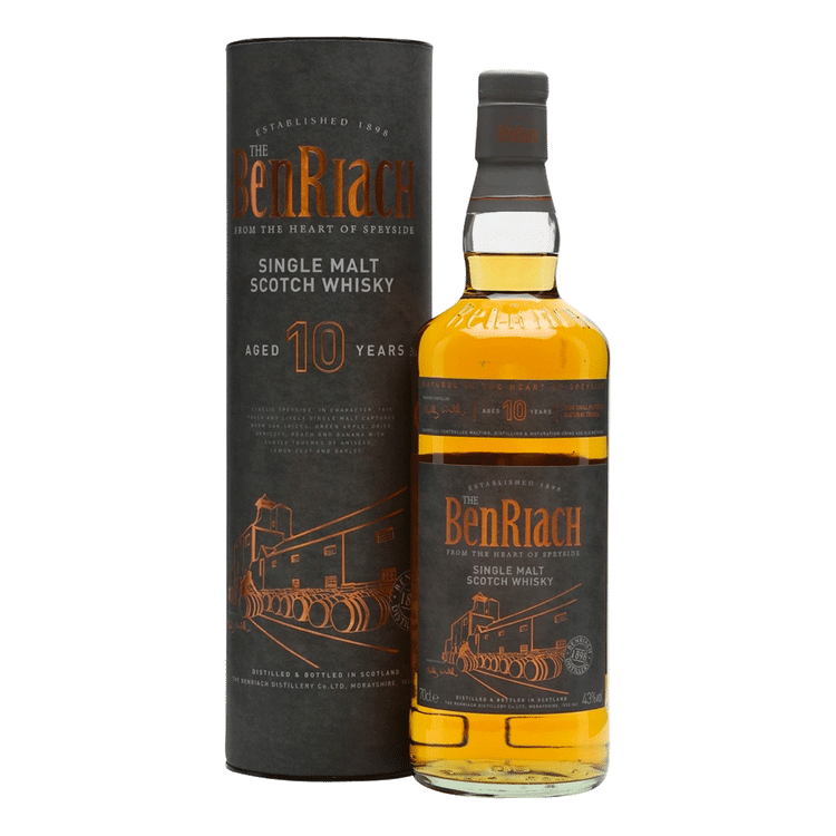 BenRiarch 10 Year Old Scotch Whiskey - Available at Wooden Cork