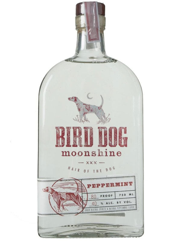 Bird Dog Peppermint Moonshine - Available at Wooden Cork