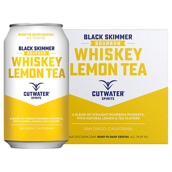 Cutwater Black Skimmer Whiskey Lemontea - Available at Wooden Cork