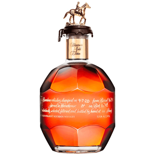 Blanton's Gold Label - Foreign Edition - Available at Wooden Cork