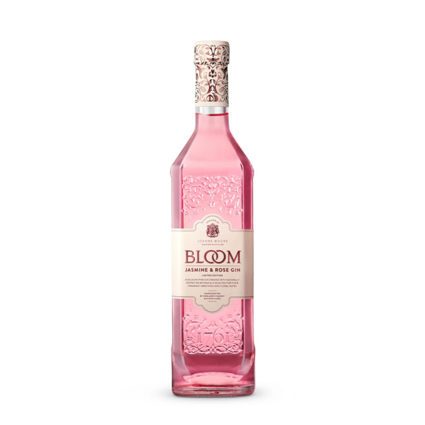 Bloom Gin Jasmine & Rose Limited Edition New Western Gin - Available at Wooden Cork