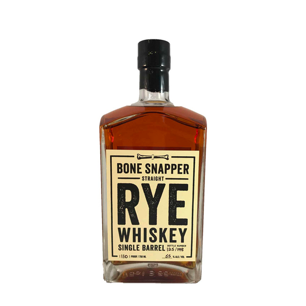 Bone Snapper Straight Rye Whiskey  Bone Snapper